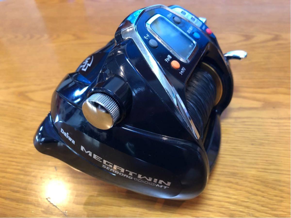 Daiwa シーボーグ 1000 MT 電動リール SEABORG メガツイン 検索) 深海釣り Beast Master 9000 6000 金目鯛 アカムツ マグロ 泳がせ_画像5