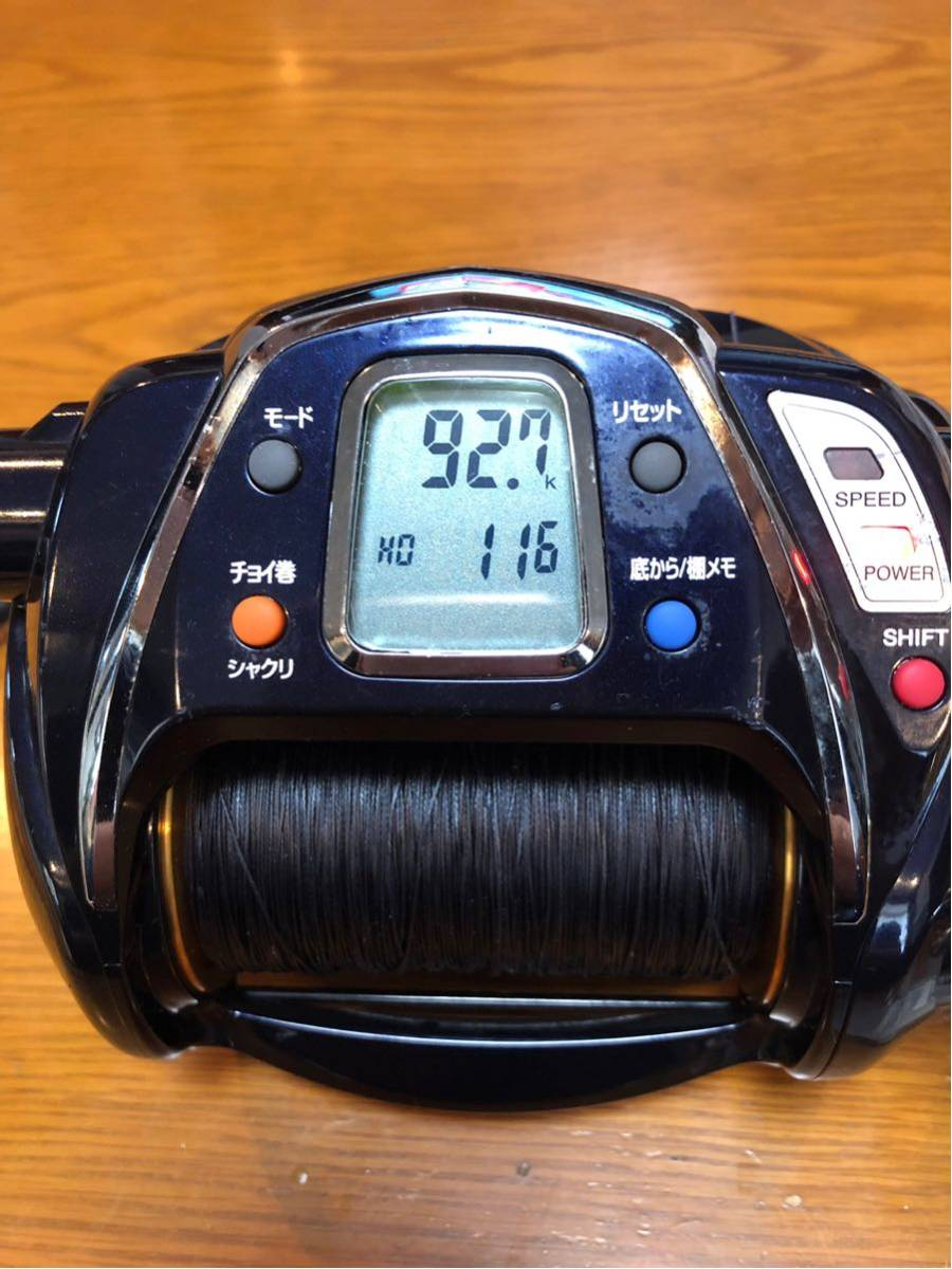 Daiwa シーボーグ 1000 MT 電動リール SEABORG メガツイン 検索) 深海釣り Beast Master 9000 6000 金目鯛 アカムツ マグロ 泳がせ_画像2