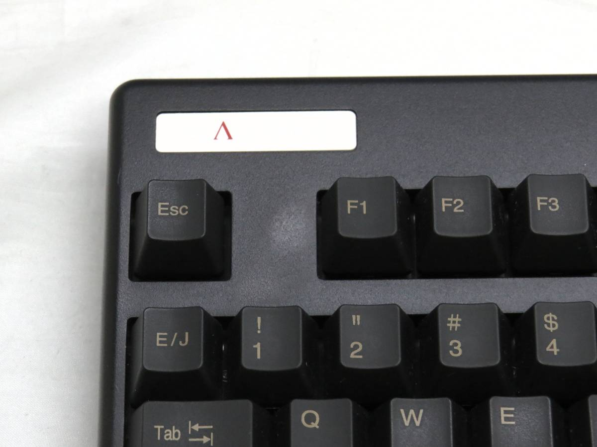 東プレ Realforce 91UBK-S NG01BS USBキーボード 中古品_画像3
