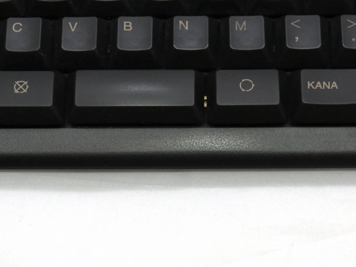 東プレ Realforce 91UBK-S NG01BS USBキーボード 中古品_画像4