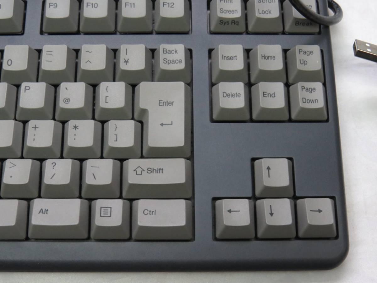 東プレ Realforce 91UG-S NG31BS USBキーボード 中古品(使用頻度低)_画像3
