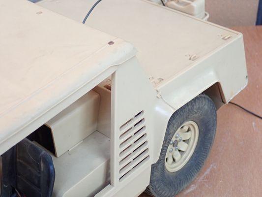 KX38◆当時物 タミヤ 1/12 ランボルギーニ CHEETAH チーター 電動RC 完成品 未チェック ジャンク/小鹿 ラジコン 送:G/100_画像3