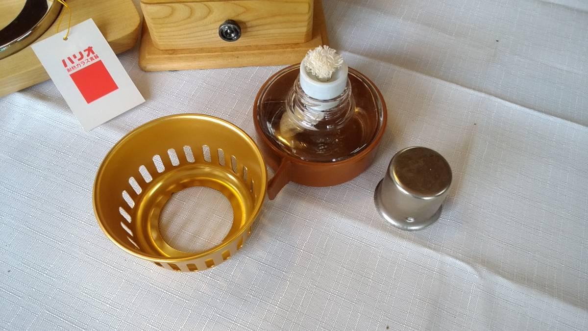 ハリオ コーヒーサイフォン TCA-5 5杯用白木シリーズ スペアパーツ付き No:615_画像4