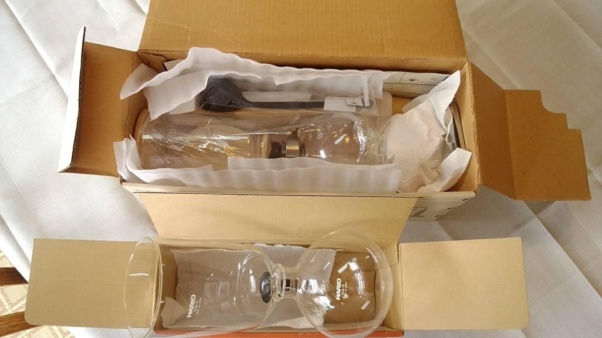ハリオ コーヒーサイフォン TCA-5 5杯用白木シリーズ スペアパーツ付き No:615_画像6