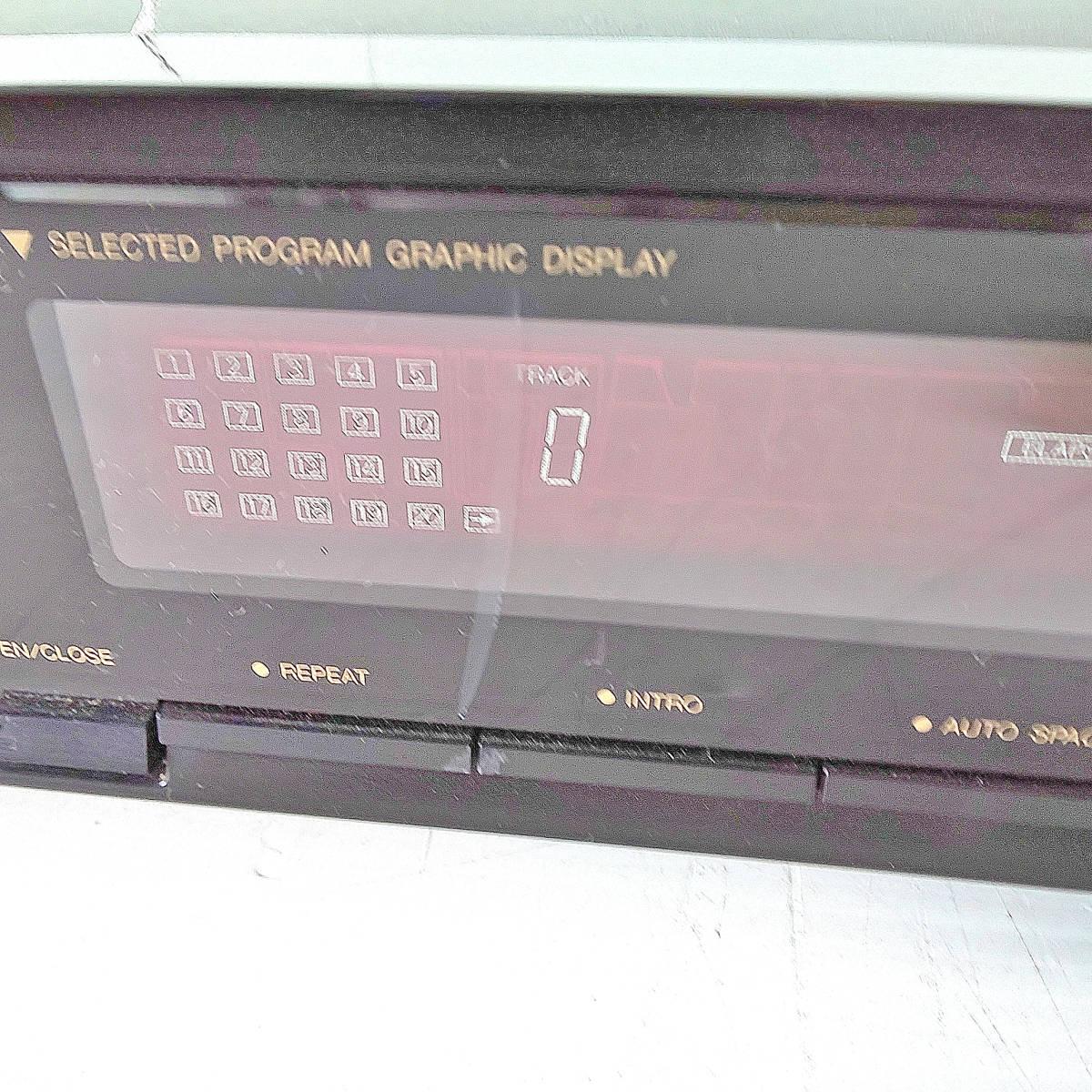 ◆NEC COMPACT DISC PLAYER MODEL CD-410 CDプレーヤー_画像3