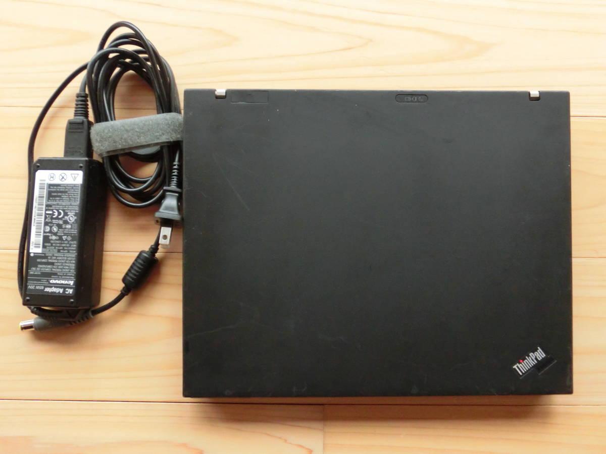 【難あり】 Thinkpad X61 Core2Duo T7300 2.0GHz / 2GB / 500GB_画像3