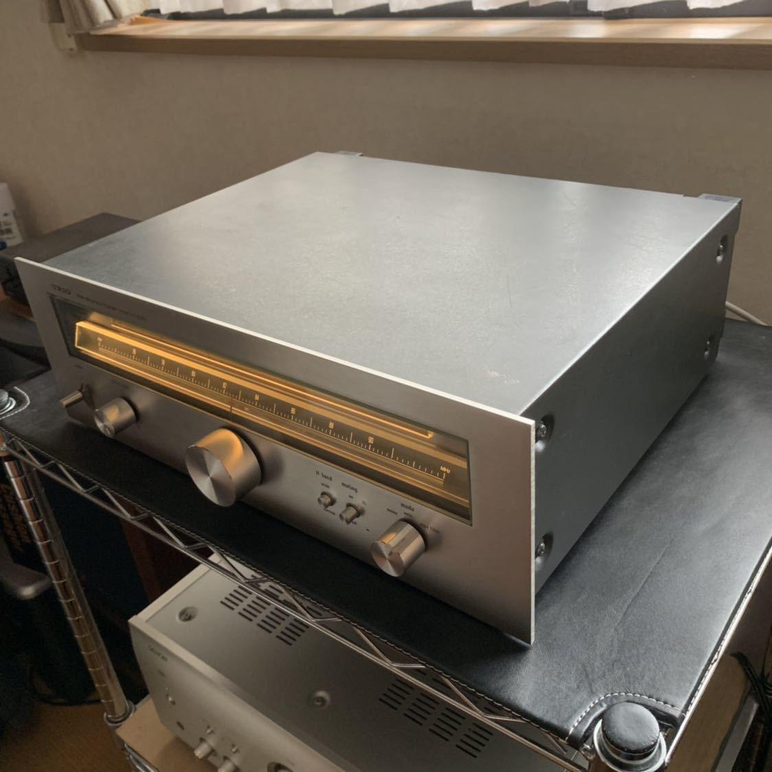 受信感度良好 TRIO トリオ FM 専用 チューナー KT-8000 電源スイッチのみ不良 その他 完動確認_画像9