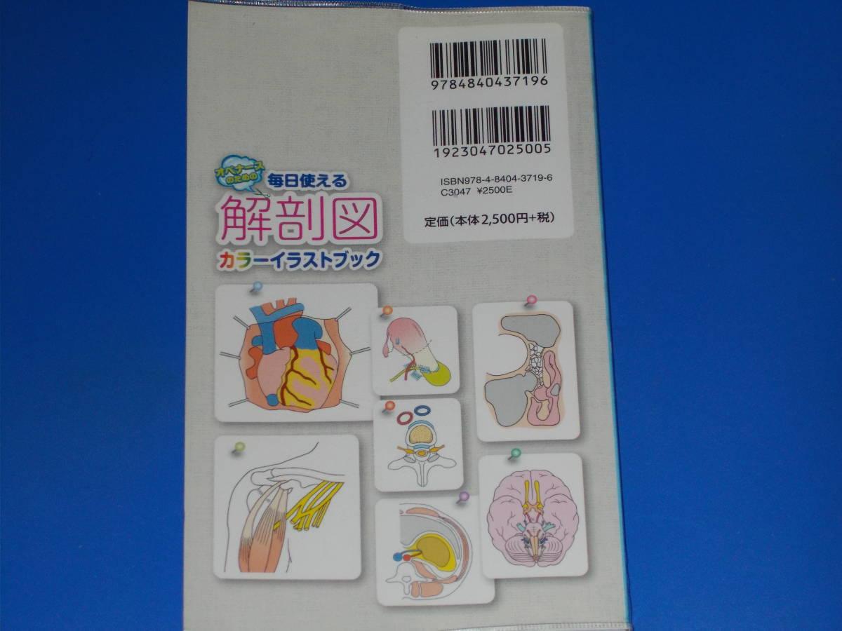 オペナースのための 毎日使える解剖図カラーイラストブック 10診療科が勢揃い!術野の読み取りポイントがよくわかる! 小西敏郎 メディカ出版_画像2