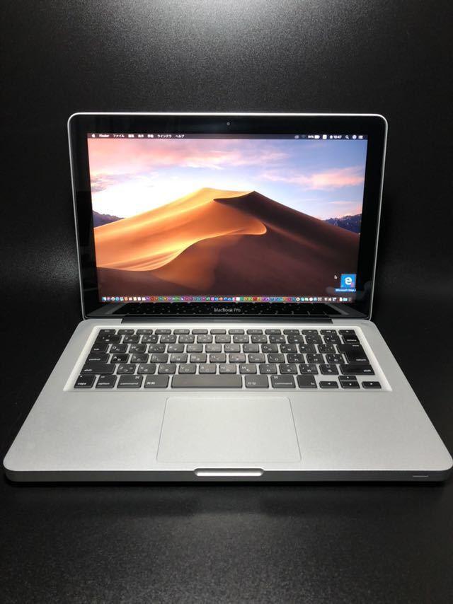 1tb SSD + 1tb HD外付け 13インチ 16GB i7 2.9ghz 2012 Macbook Pro Mojave/Windows 10 Office 2019 Final Cut Logic 美品