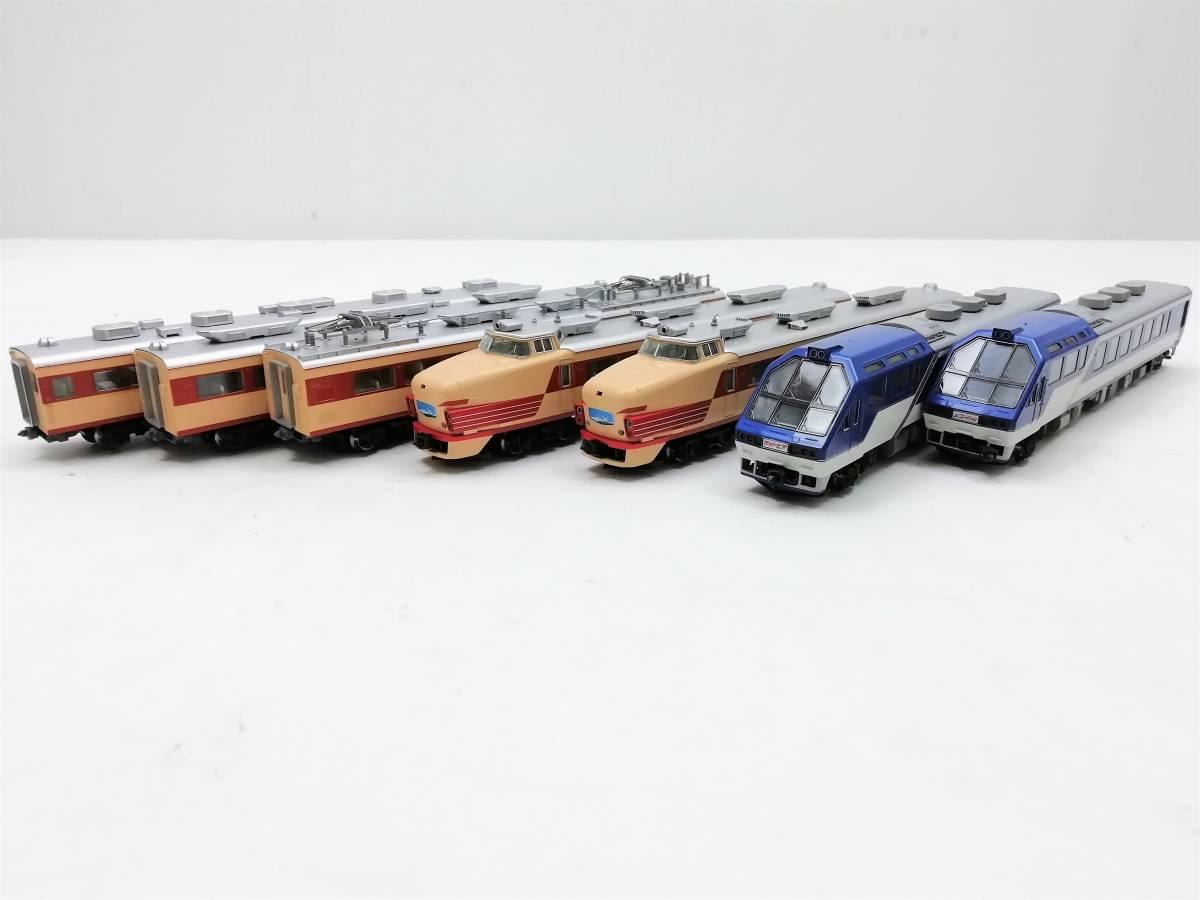 1円~ ◆鉄道模型◆トミックス/TOMIX 92787 国鉄 485系特急電車(キロ65 形 ゆぅトピア和倉) 7両セット Nゲージ/JR/コレクション_画像3
