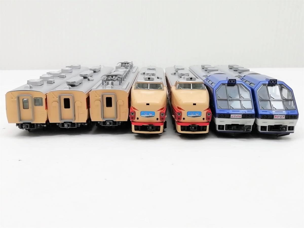1円~ ◆鉄道模型◆トミックス/TOMIX 92787 国鉄 485系特急電車(キロ65 形 ゆぅトピア和倉) 7両セット Nゲージ/JR/コレクション_画像6