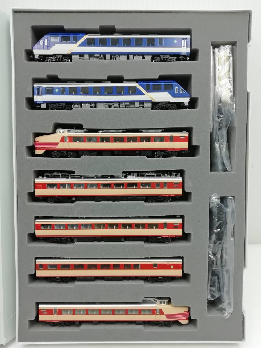 1円~ ◆鉄道模型◆トミックス/TOMIX 92787 国鉄 485系特急電車(キロ65 形 ゆぅトピア和倉) 7両セット Nゲージ/JR/コレクション_画像2