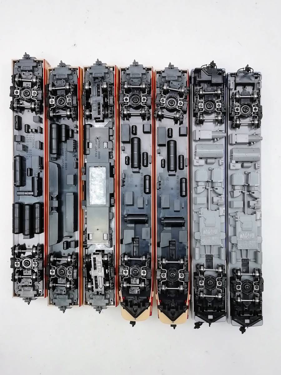 1円~ ◆鉄道模型◆トミックス/TOMIX 92787 国鉄 485系特急電車(キロ65 形 ゆぅトピア和倉) 7両セット Nゲージ/JR/コレクション_画像5