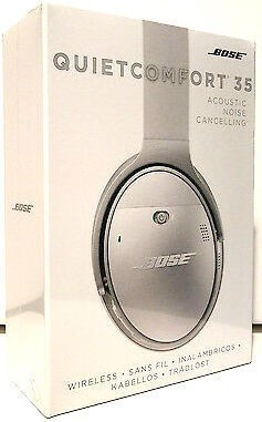 新品 未開封 Bose QuietComfort 35 wireless headphones ボーズ ワイヤレスノイズキャンセリングヘッドホン シルバー_画像2