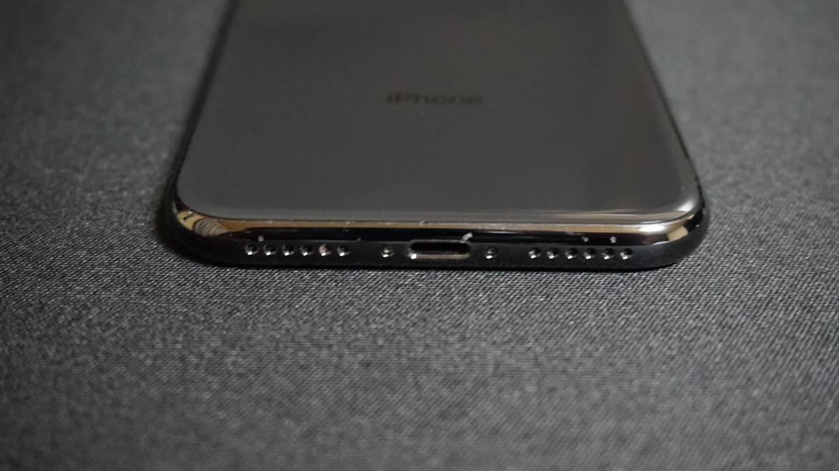 iPhone X 64GB スペースグレイ 本体 Softbank simロック解除 済 simフリー_画像5
