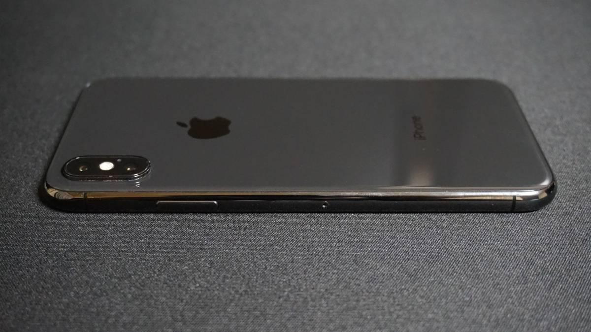 iPhone X 64GB スペースグレイ 本体 Softbank simロック解除 済 simフリー_画像6