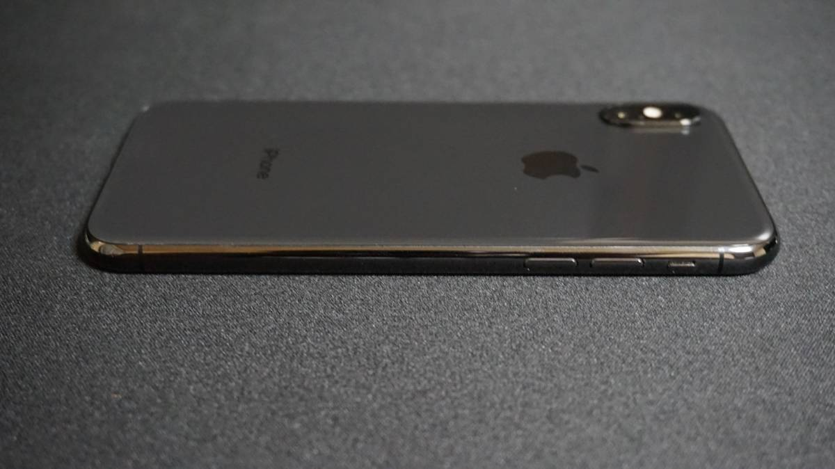 iPhone X 64GB スペースグレイ 本体 Softbank simロック解除 済 simフリー_画像8