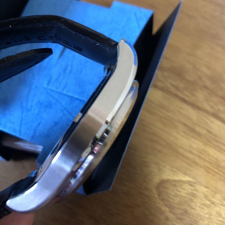 新品 未使用 SEIKO セイコー クロノグラフ ANA限定モデル クオーツ 7T86-0AE0 腕時計 _画像7