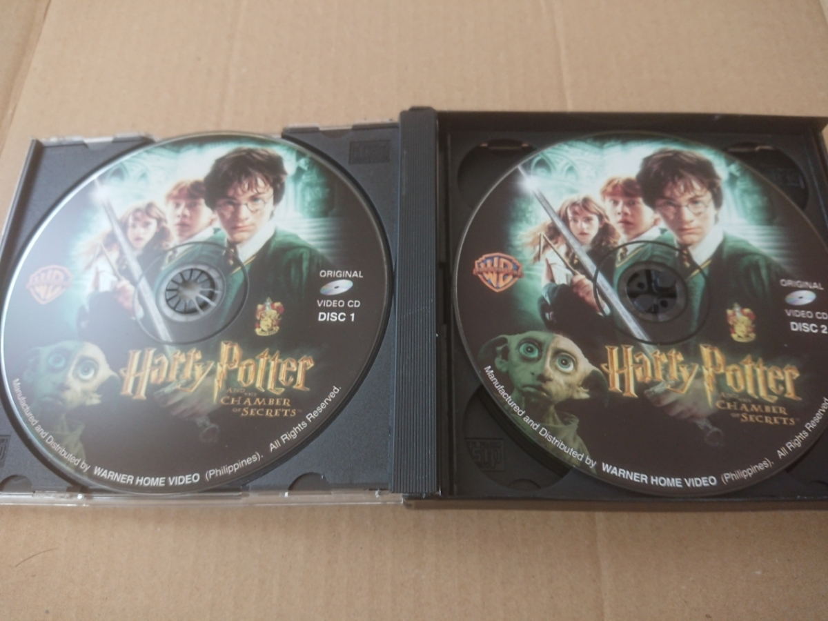 HARRY POTTER AND THE CHAMBER OF SECRETS/ハリー・ポッター★VCD(ビデオCD)3枚組【同梱可能】_画像3