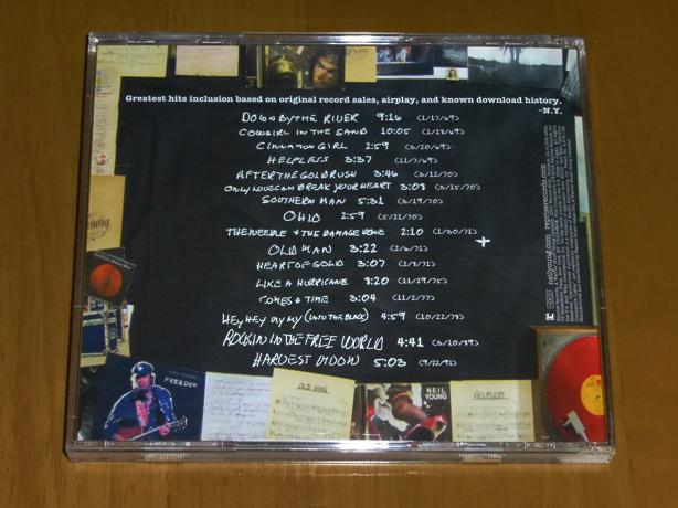 Neil Young 「 ニール・ヤング / グレイテスト・ヒッツ 」_画像2