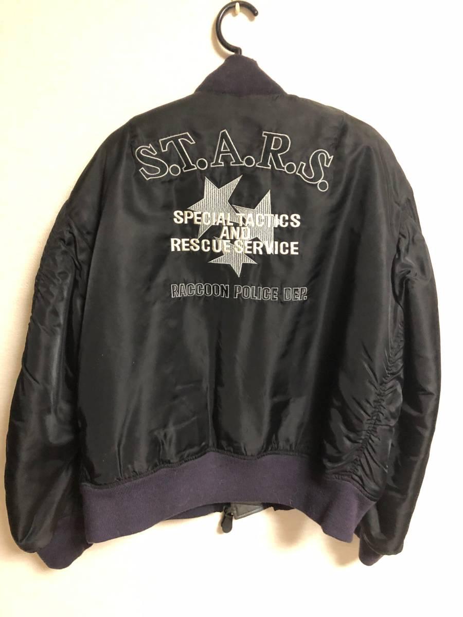 BIOHAZARD バイオハザード 10周年記念S.T.A.R.S. MA-1 RPD ジャケット_画像2