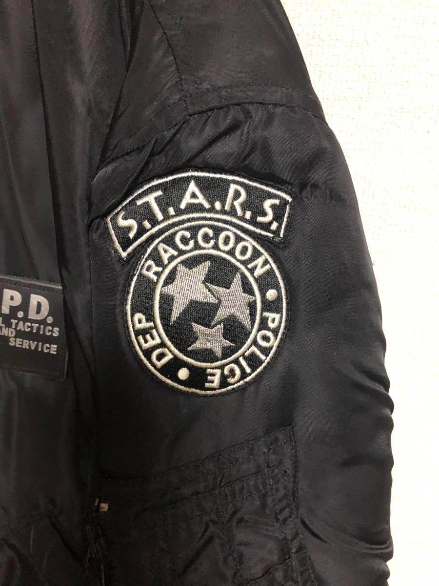 BIOHAZARD バイオハザード 10周年記念S.T.A.R.S. MA-1 RPD ジャケット_画像4