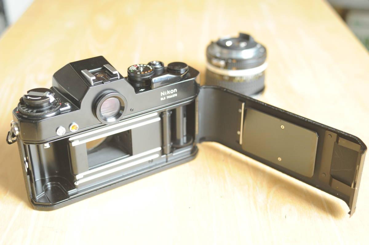 Nikon EL2 Ai NIKKOR 20mm f2.8S ジャンクのセット_画像4