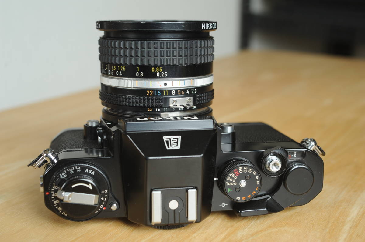 Nikon EL2 Ai NIKKOR 20mm f2.8S ジャンクのセット_画像3