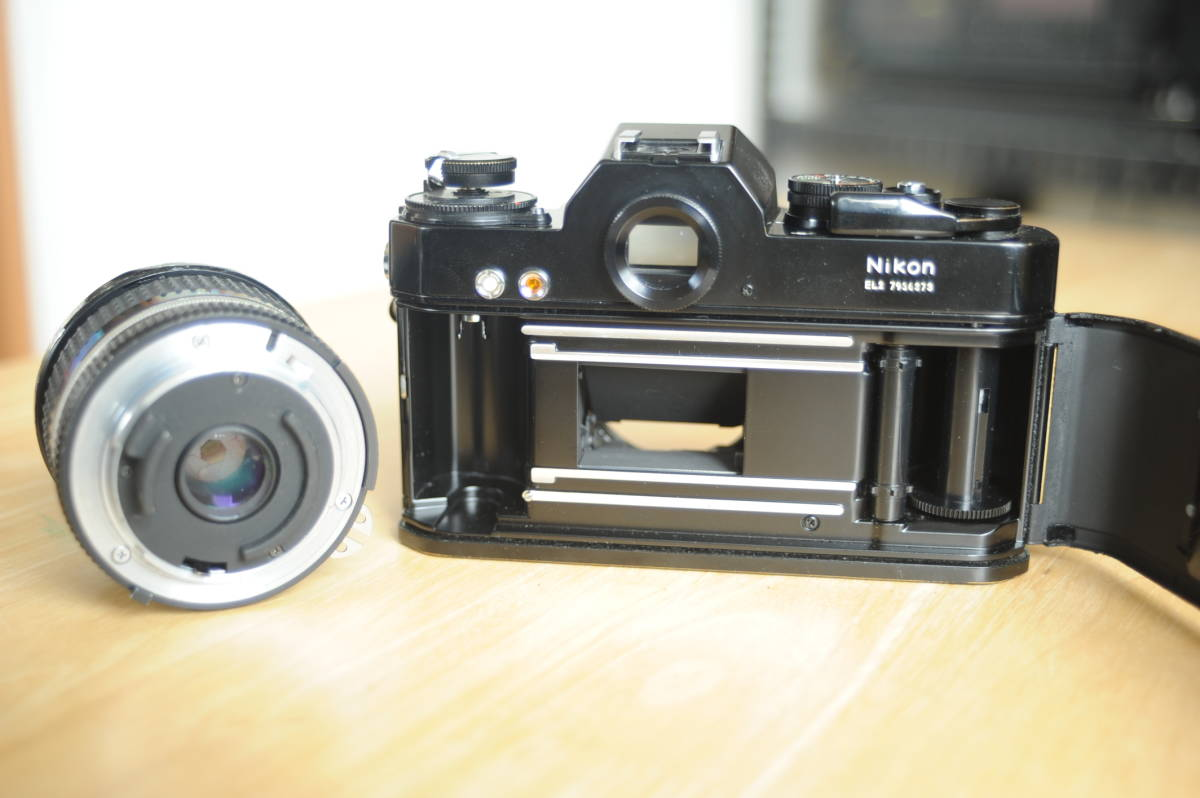 Nikon EL2 Ai NIKKOR 20mm f2.8S ジャンクのセット_画像8