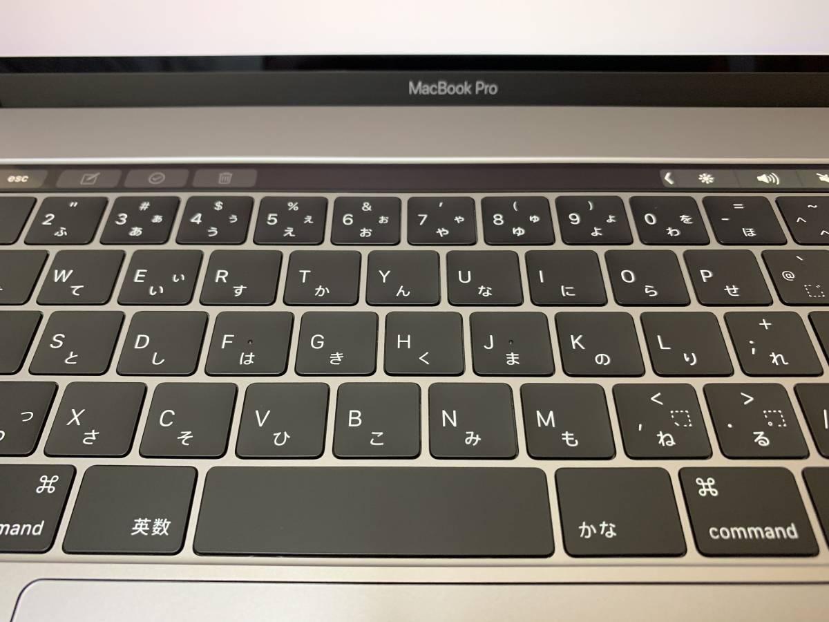 美品!MacBook Pro Core i9 2.9GHz/メモリ32GB/SSD1TB/Touch Bar/(15-inch, 2018)/MR952J/A CTO/保証残あり_画像3