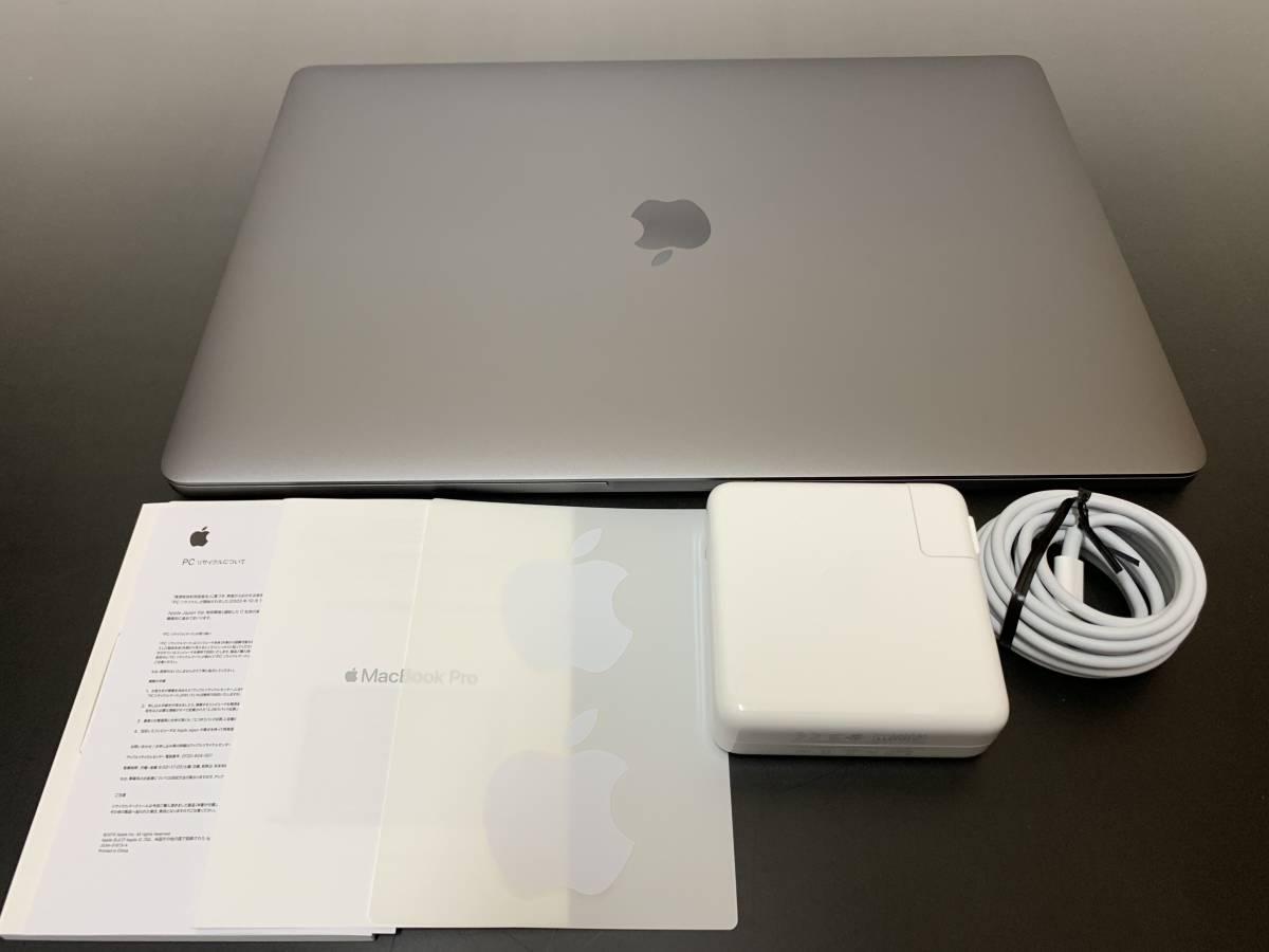 美品!MacBook Pro Core i9 2.9GHz/メモリ32GB/SSD1TB/Touch Bar/(15-inch, 2018)/MR952J/A CTO/保証残あり_画像4