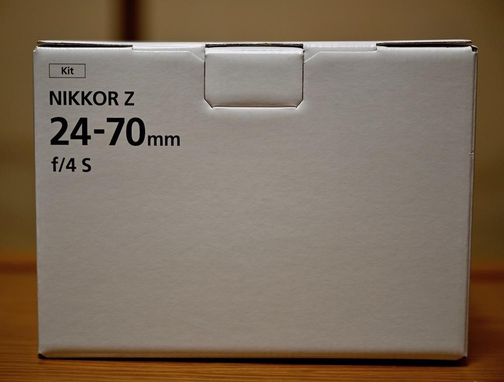 Nikon ミラーレス一眼用 ZOOMレンズ NIKKOR Z 24-70mm f/24 S 極美品 おまけ(保護フィルター)付きほぼ未使用_画像10
