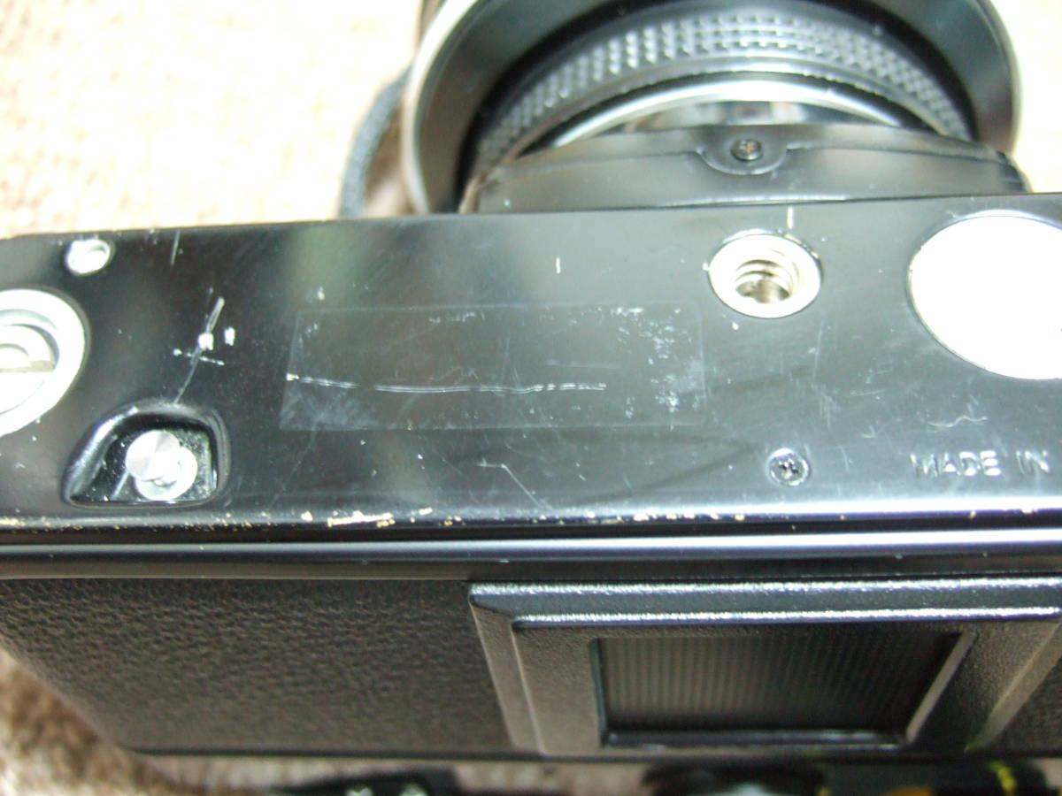 ニコン Nikon FM2ブラック + 85mm/F1.4 + 50mm/F1.4 中古品_画像4