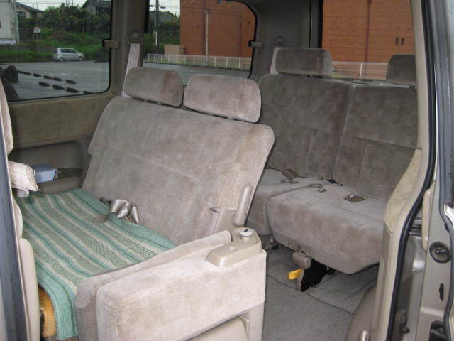 HONDA ホンダ ステップワゴンALMAS 4WD 助手席リフト 初H13年9月 車検32年9月 4万キロ_画像10