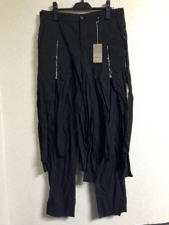 COMME des GARCONS HOMME PLUS 19ss 短冊パンツ コムデギャルソン オムプリュス