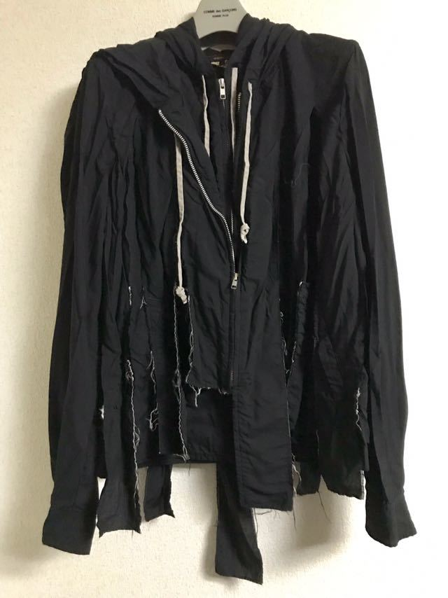 COMME des GARCONS HOMME PLUS 19ss 短冊ブルゾン コムデギャルソン オムプリュス