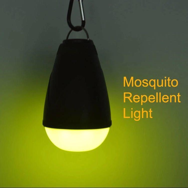 蚊忌避ライトリモートコントロールキャンプライト 18650 USB 充電式ポータブル緊急夜釣りテント電球_画像2