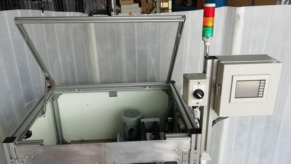 エアーバブル緩衝材製造機 PR-Xタイプ ニューロング株式会社_画像7