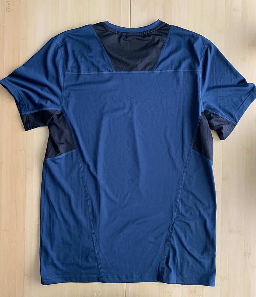 Peak Performance ピークパフォーマンス 吸湿速乾 Tシャツ M トレラン ランニング 登山 パタゴニア アークテリクス_画像3
