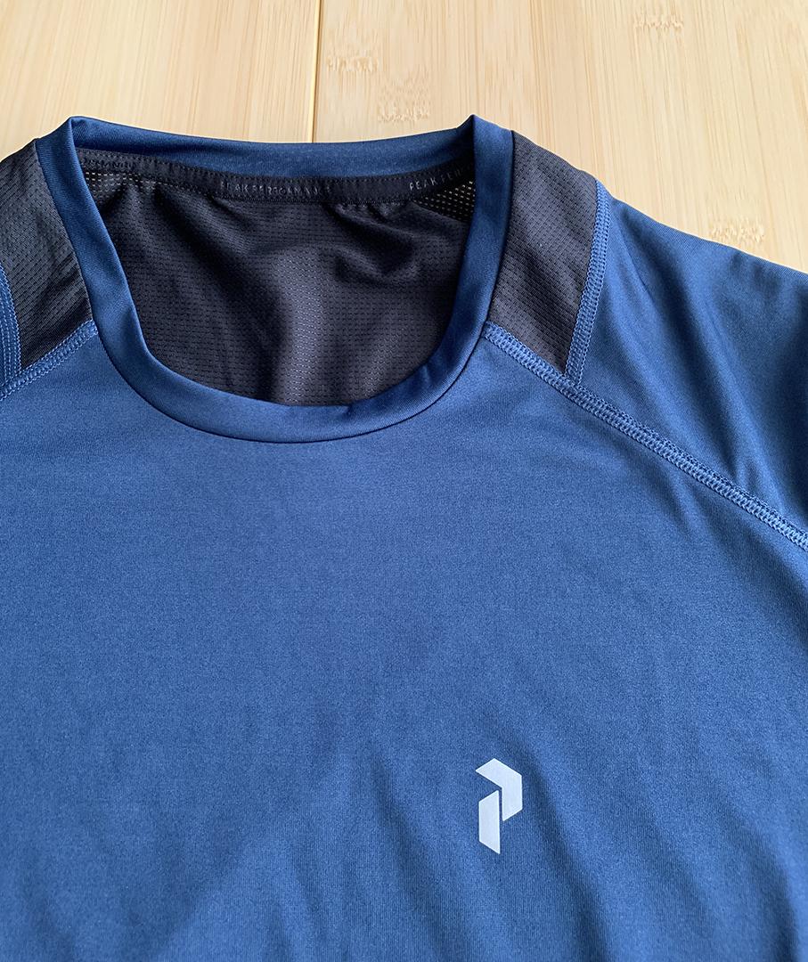 Peak Performance ピークパフォーマンス 吸湿速乾 Tシャツ M トレラン ランニング 登山 パタゴニア アークテリクス_画像2