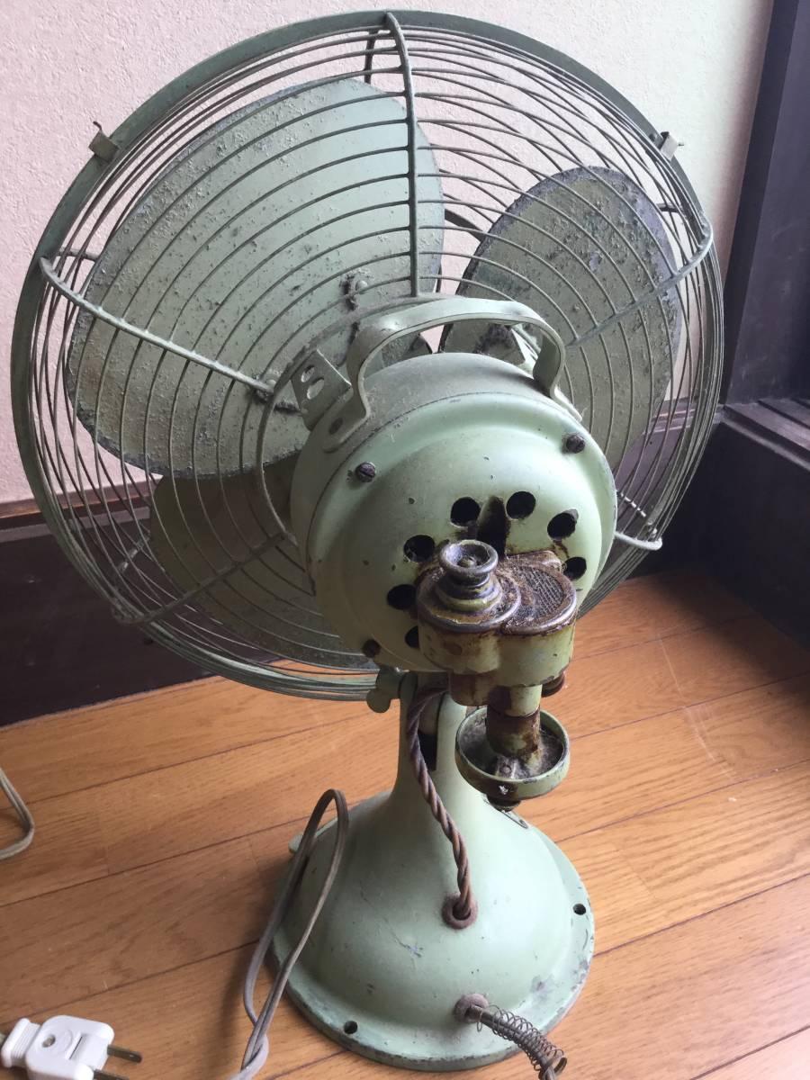 昭和レトロ 三菱 扇風機_画像3