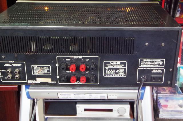 Lo-d パワーアンプ HMA-8500 動作確認済み 完動品_画像7