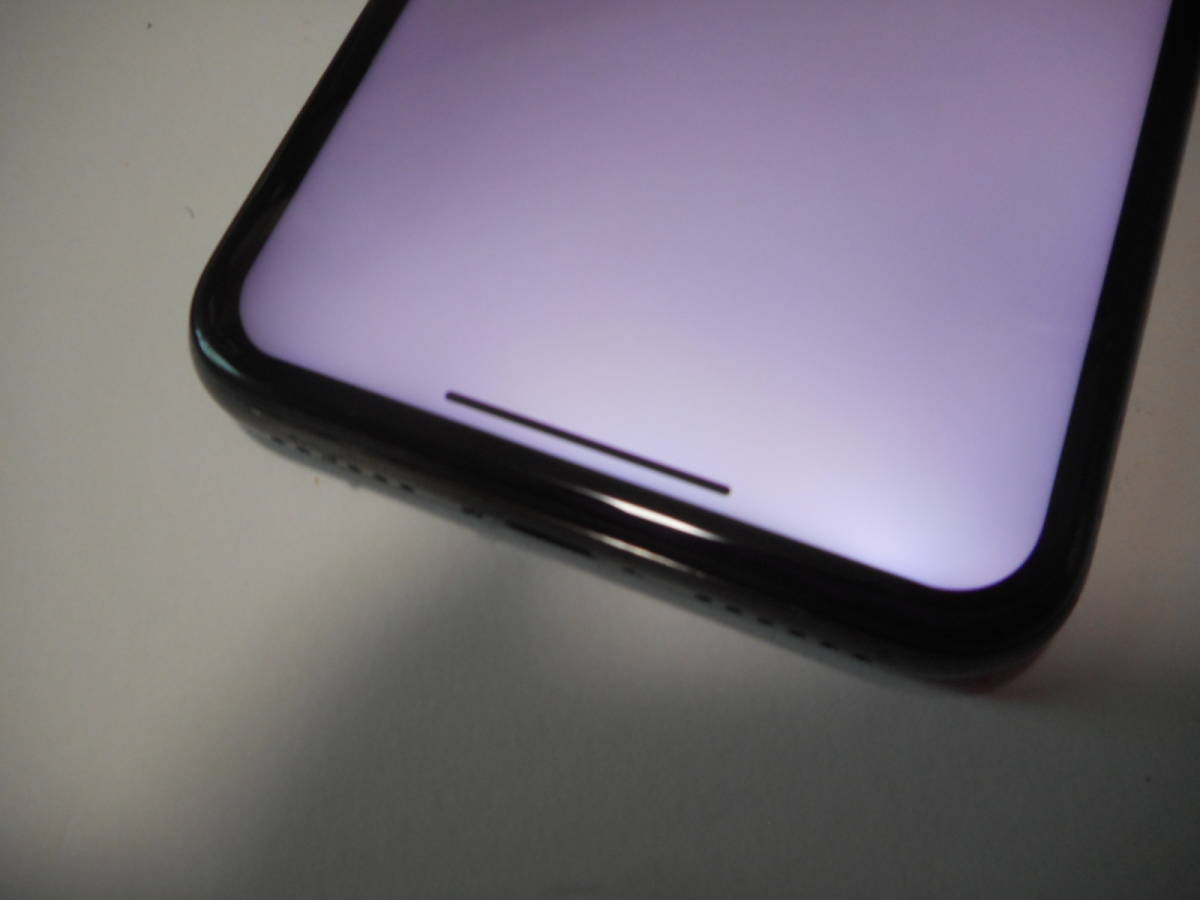 ②iPhoneX本体64GB液晶無傷ブラックau完動品白ロム判定〇【動作確認済み1円スタート送料無料】iPhone X_画像5