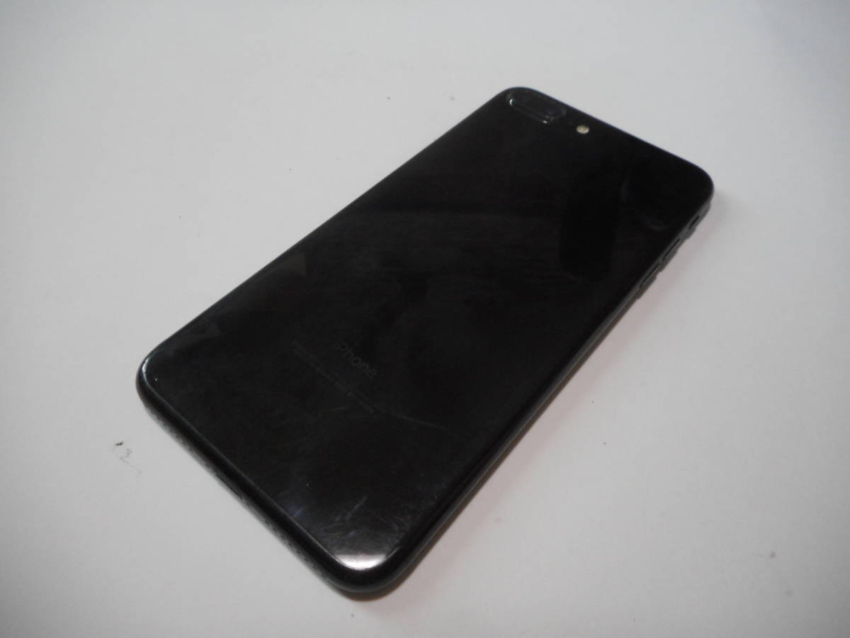 ①iPhone7Plus本体128GB液晶無傷ブラックSoftbank完動品白ロム判定〇【動作確認済み1円スタート送料無料】_画像5