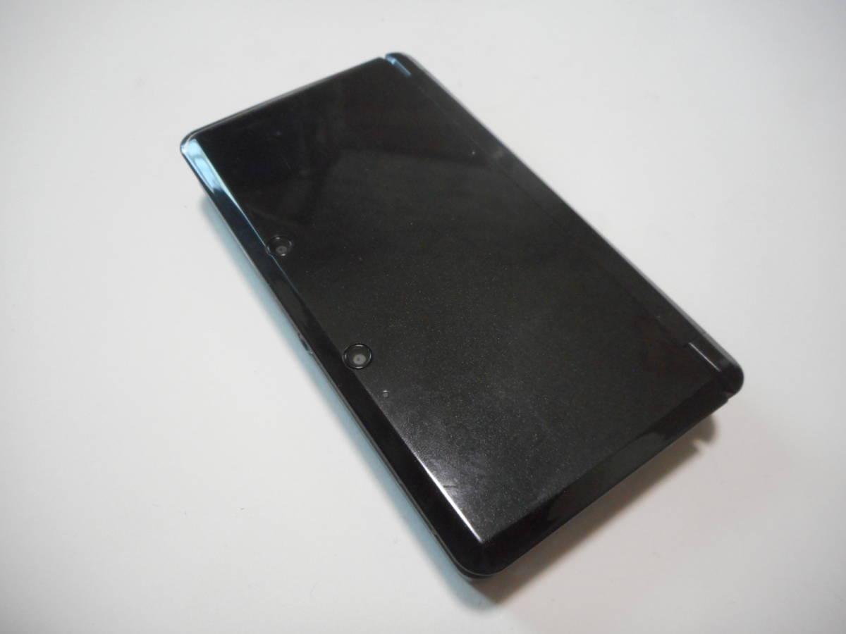 ⑨【送料無料】完動品3DS本体コスモブラックVer11.9.0-42J【動作確認済み1円スタート】_画像2