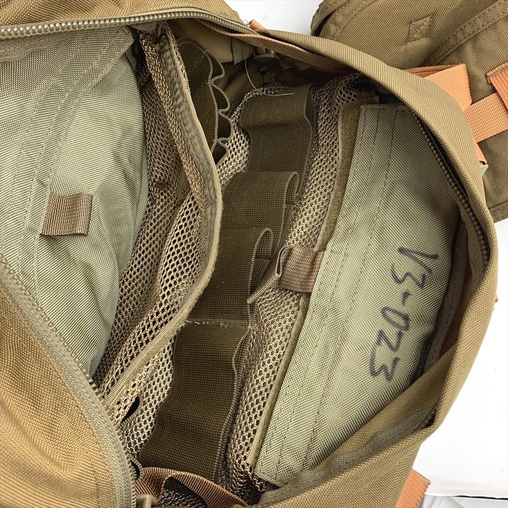 アメリカ軍 海兵隊 コンバットトラウマバッグ メディカルバッグ コヨーテ CTB V3 米軍実物 放出品_画像5