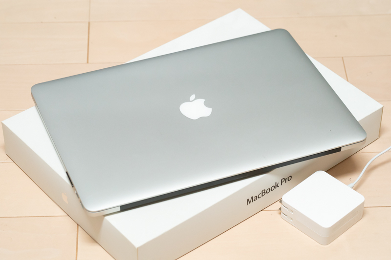 Macbook pro Retina 15インチ Mid 2014 MGXC2J/A プラス トランセンド256GB SDカード_画像3