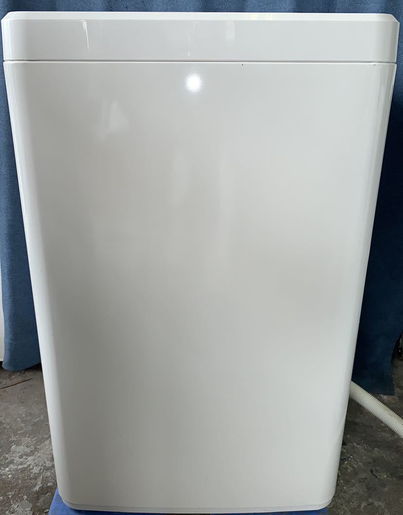 【2013年製 1000円スタート 木曜まで!】無印良品 ハイアールアクア 全自動洗濯機 AQW-MJ60 6kg洗い_画像5