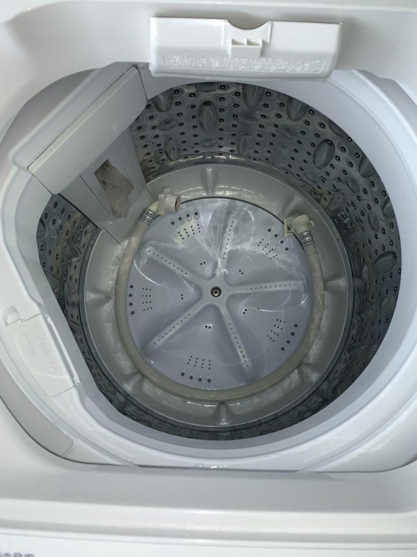 【2013年製 1000円スタート 木曜まで!】無印良品 ハイアールアクア 全自動洗濯機 AQW-MJ60 6kg洗い_画像4