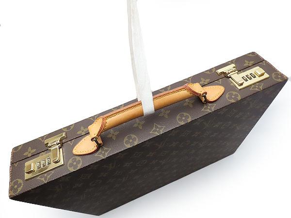 ルイヴィトン モノグラム アタッシュケース ビジネスバッグ ブリーフケース ハードケース トランク_画像4